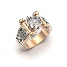 Восковка кольцо 10156