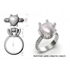 Восковка кольцо 9525