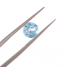 Круг Топаз London Blue  6 мм